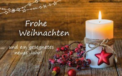 Frohe Weihnachtsfest und erfolgreiches neues Jahr